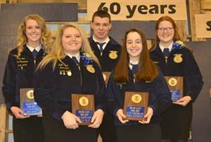 FFA Holds Annual Parent-Member Banquet