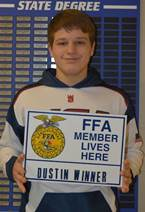 January 2020 FFA Member of the Month