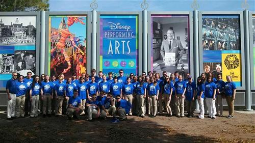 M.E.H.S. Choir at Disney